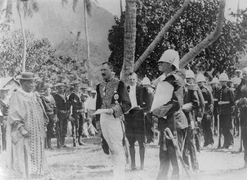 Cook Islands annexed, 1900