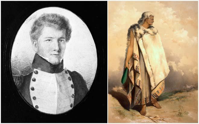 Arthur Wakefield and Te Rangihaeata