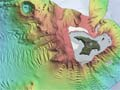 Bathymetry of Raoul Island and offshore volcanoes