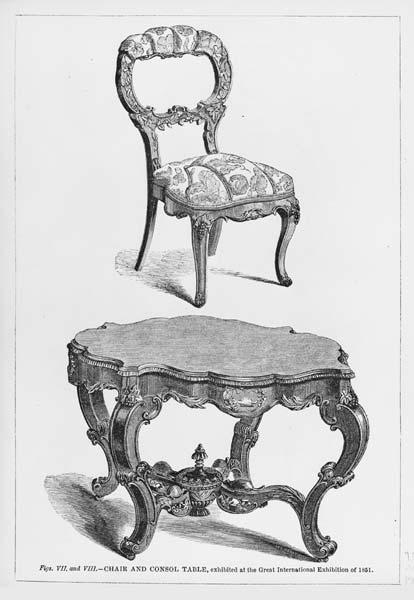 Exhibiting art furniture