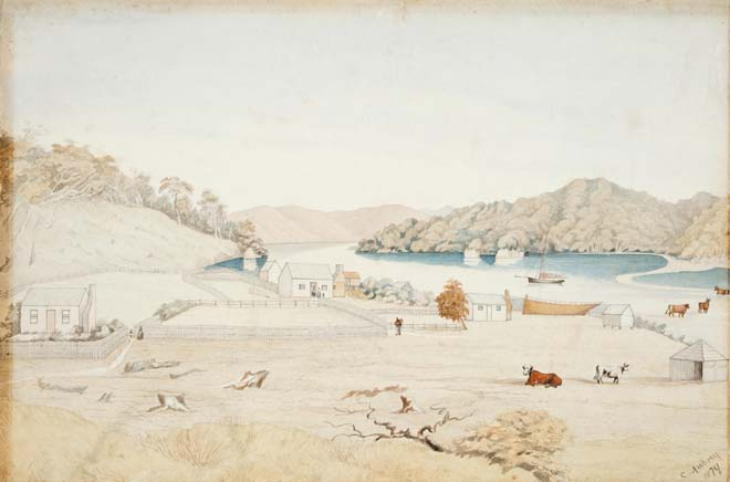 Settlement at Paterson Inlet, 1879