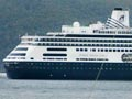 Tourism on Stewart Island: cruise ship in Paterson Inlet, 2009