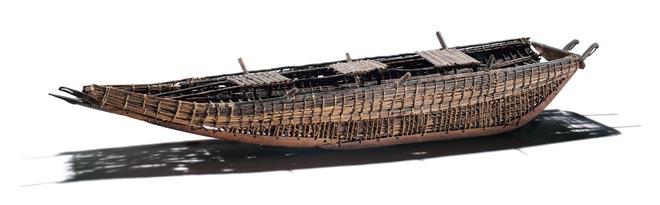 Replica Moriori raft