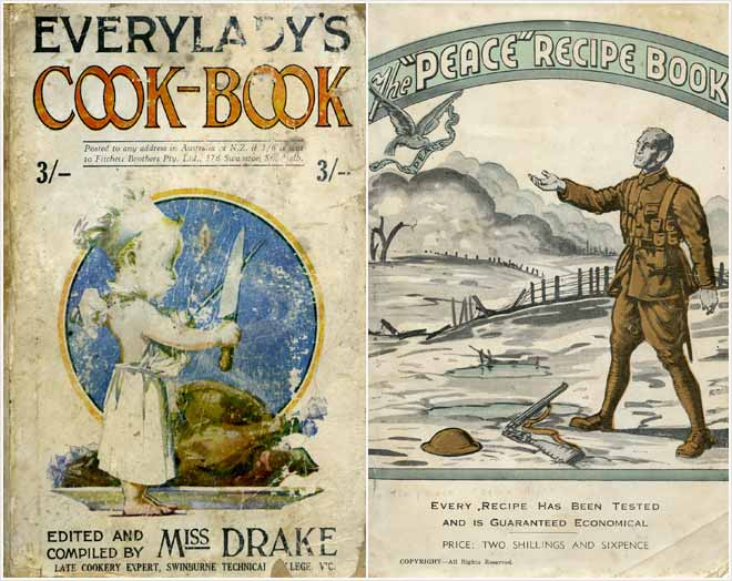 Cookbooks, 1920s and 1940s