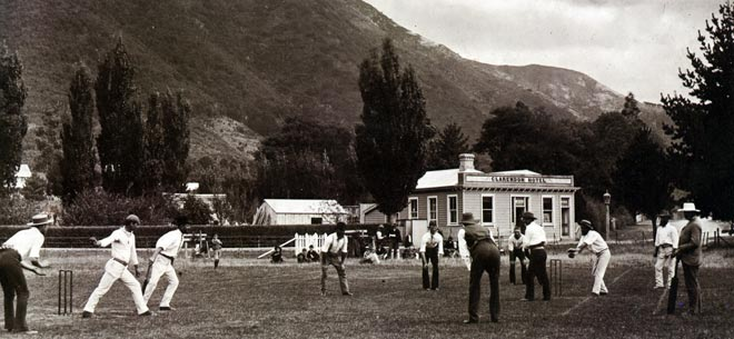 Cricket at Picton