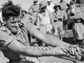 Tug-of-war at Maadi, Egypt, 1940