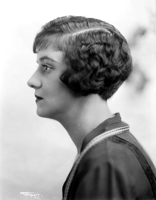 Shingle cut, marcel waved, 1924