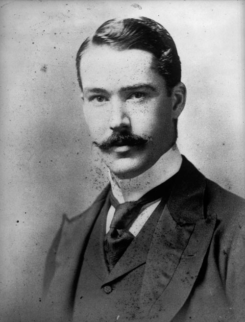 Neat and tidy moustache, 1891