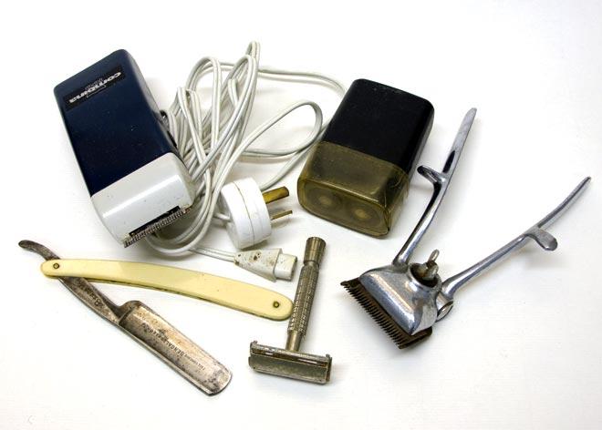 Barbers' equipment