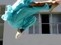 'Spring legs' kung fu