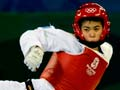 Tae kwon do practitioner Robin Cheong, 2008 Olympics