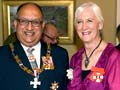 Lois Muir: with the governor-general