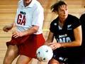 Mid-court players: Sandra Edge