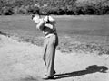 Dressed for golf, 1951