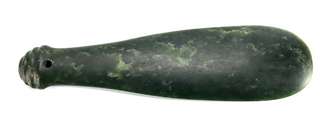 One-handed weapons: mere pounamu