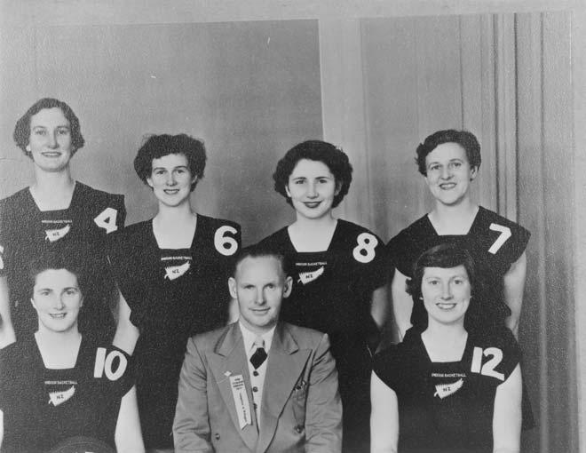 National women's team, 1956