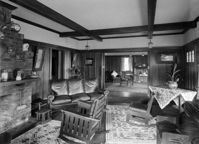An Early Bungalow Home Decor And Furnishings Te Ara Encyclopedia