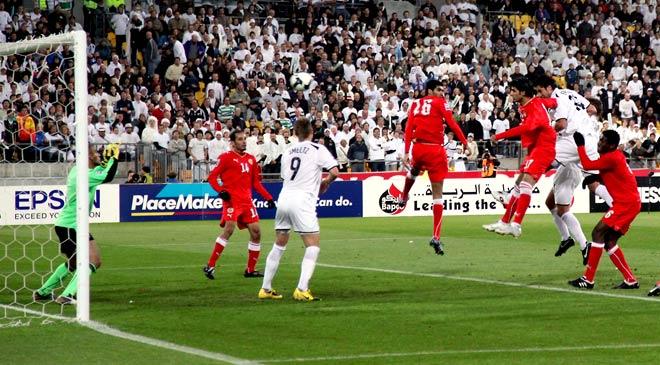 Rory Fallon scores for the All Whites, 2009