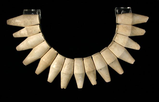 Moa-bone necklace