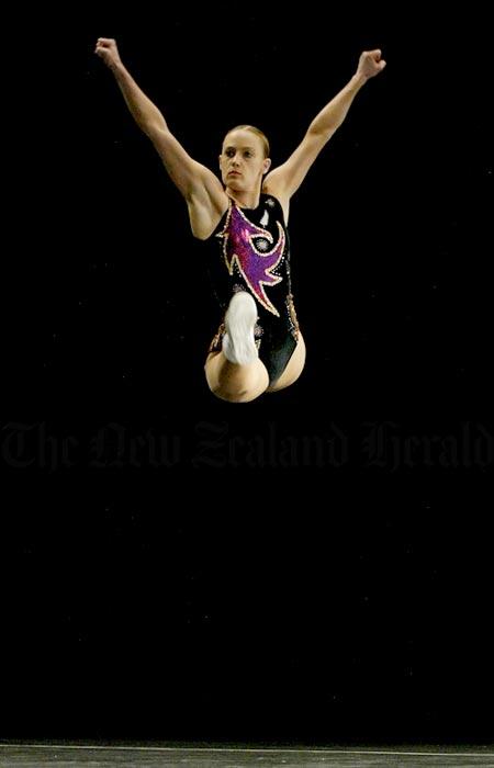 Aerobic gymnastics, 2005.