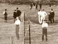 Cricket at the 'Eden Ground', around 1912
