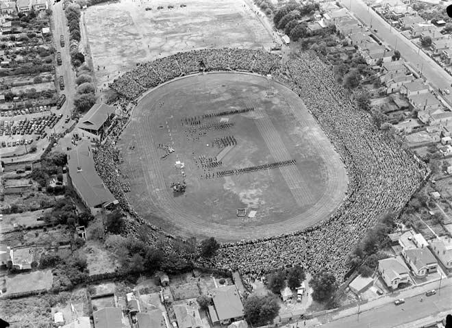 Empire Games at Eden Park, 1950