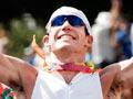 Cameron Brown winning Ironman New Zealand, 2007
