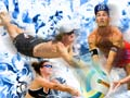 Poster for New Zealand Open beach volleyball