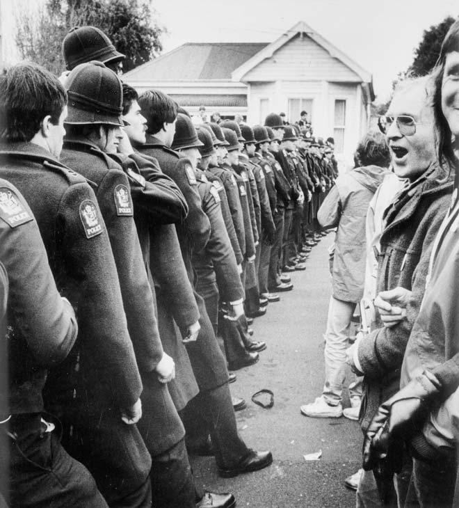 Springbok Tour Protesters 1981