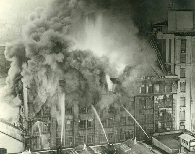 Hope Gibbons fire, 1952
