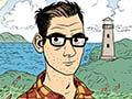 Comic artist Dylan Horrocks