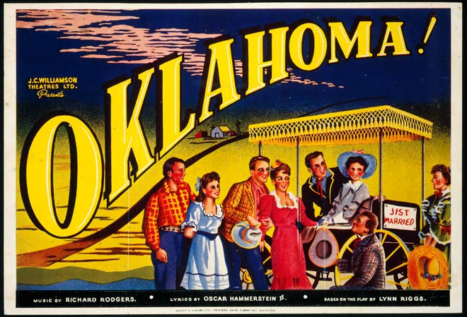 Poster for Oklahoma!