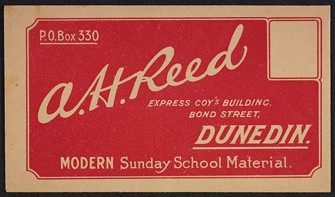 A. H. Reed envelope
