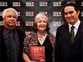 Albert Wendt, Reina Whaitiri and Robert Sullivan, 2011