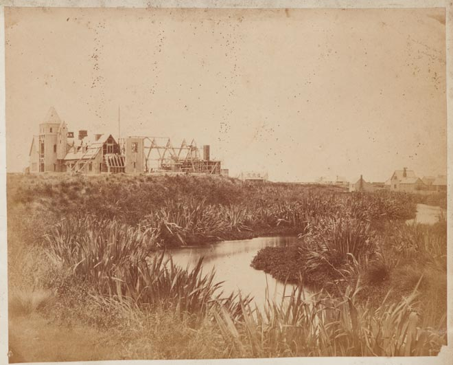 Alfred Barker's photo of Christchurch, 1859