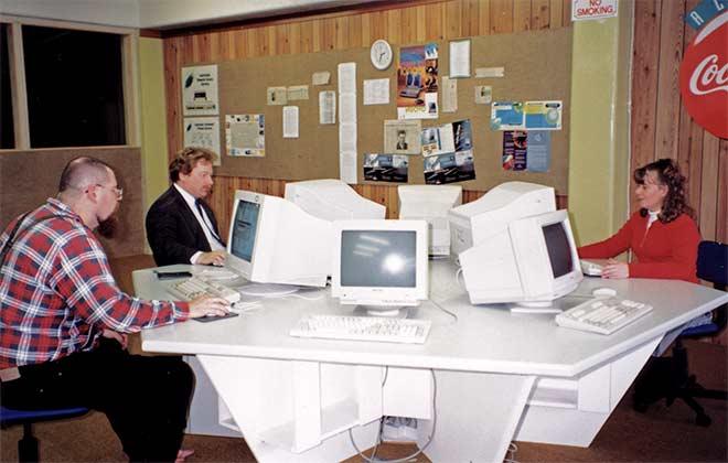 Upper Hutt's first internet café