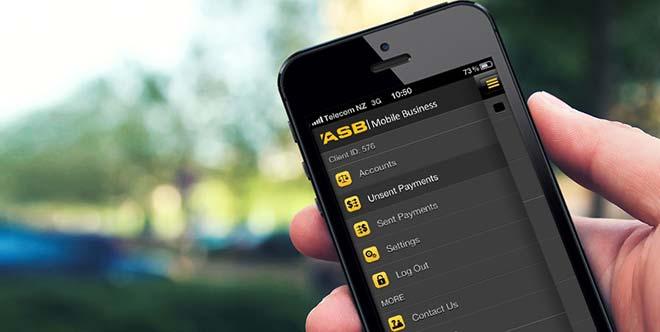 ASB banking app