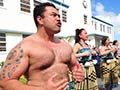 Navy kapa haka performance