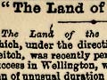 The land of the moa, 1895