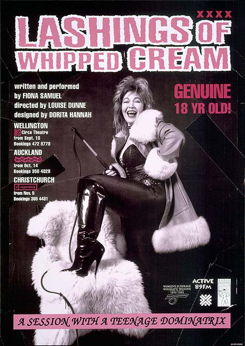 Lashings of whipped cream, 1993
