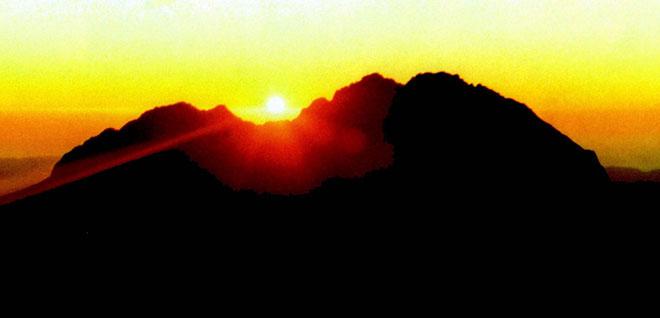 Dawn, Mt Hikurangi