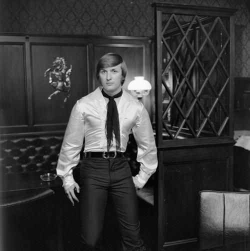 His Lordship's shirt, 1969