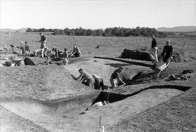 Training dig at the 1959 NZAA conference