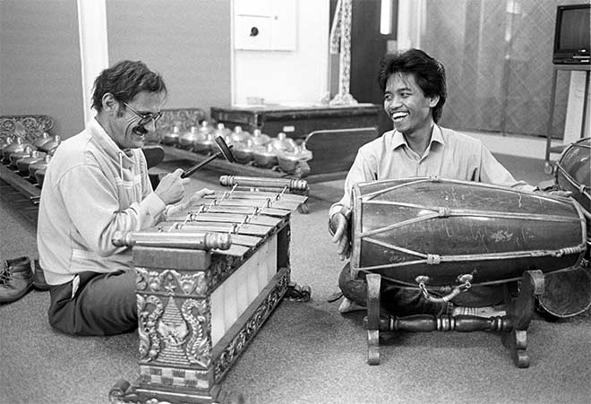 Jack Body and Joko Sutrisno, about 1988