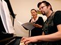 Gareth Farr rehearses