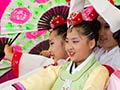 Korean dancers
