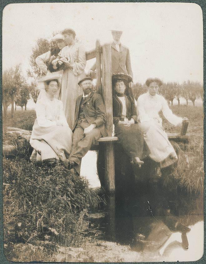 New Zealand artists overseas, 1903