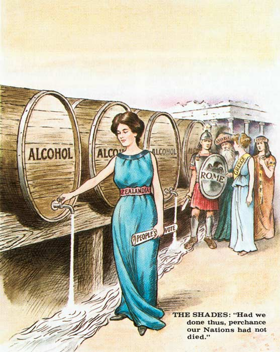 Temperance cartoon