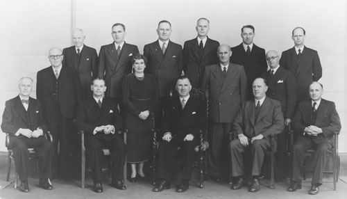 New Zealand National Party cabinet, 1951