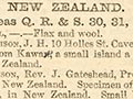 New Zealand exhibits at the 1851 Great Exhibition